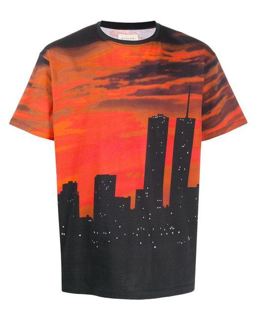 メンズ Buscemi プリント Tシャツ Black