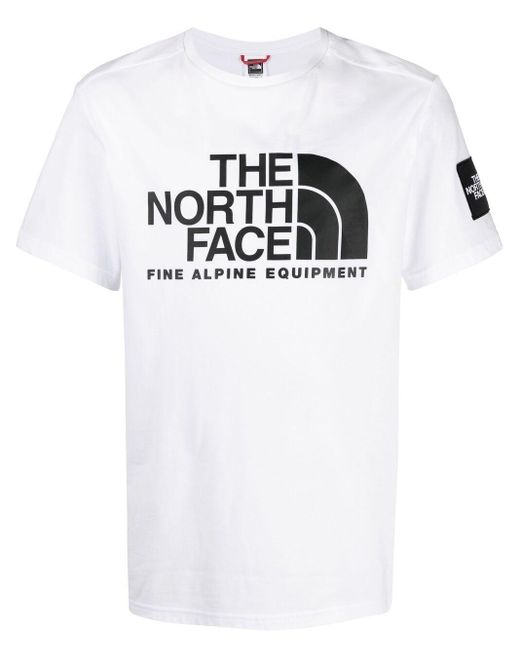 The North Face ロゴ Tシャツ White