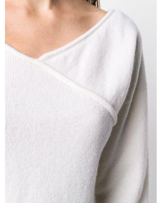 Джемпер С Длинными Рукавами FEDERICA TOSI, цвет: White