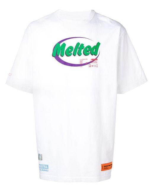メンズ Heron Preston プリント Tシャツ White