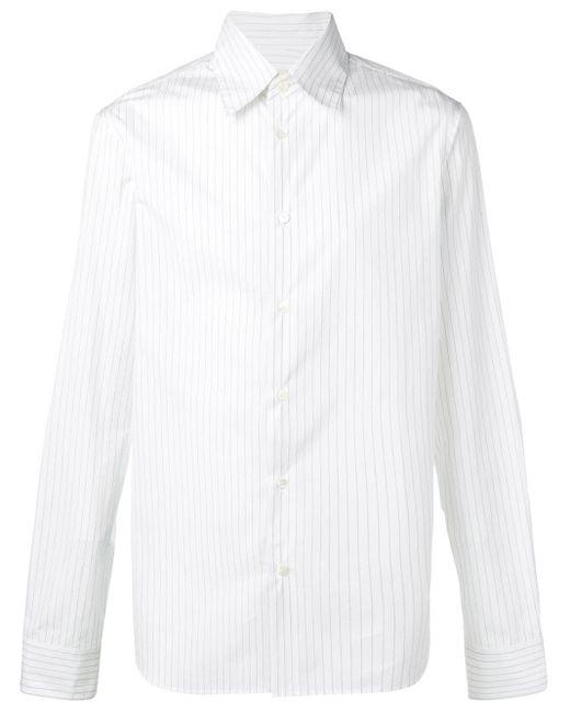 メンズ Marni ピンストライプ シャツ White