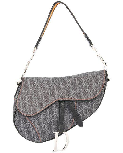 Dior トロッター サドルバッグ Gray