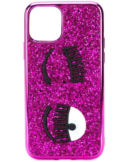 Chiara Ferragni Winking Eye Iphone 11 ケース Pink