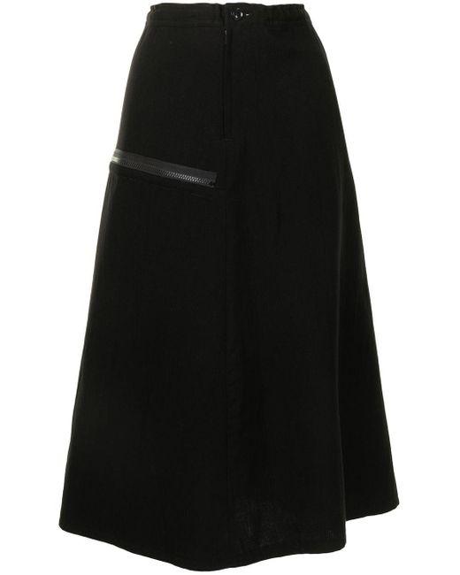 Y's Yohji Yamamoto Aライン スカート Black