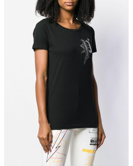 Philipp Plein Ss Gothic Tシャツ Black