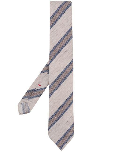 メンズ Dell'Oglio ストライプ ネクタイ Multicolor