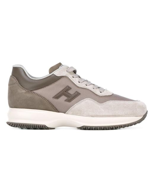 Hogan | Brown Interactive Sneakers for Men | Lyst