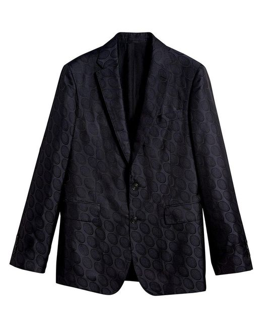 Burberry - Blue Soho Fit Spotted Evening Jacket for Men - Lyst