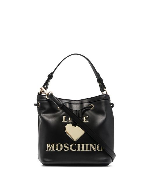 Love Moschino Love ロゴ ミニバッグ Black