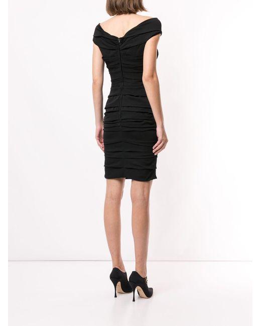 Платье Мини Со Сборками Dolce & Gabbana, цвет: Black