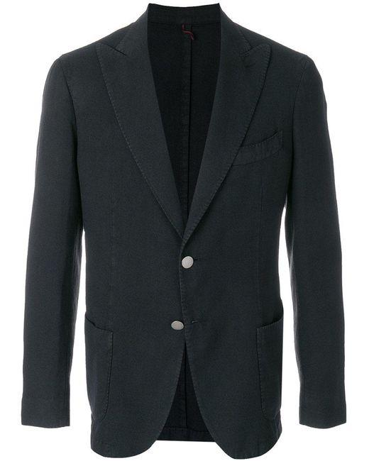 Biagio Santaniello - Black Double Button Blazer for Men - Lyst