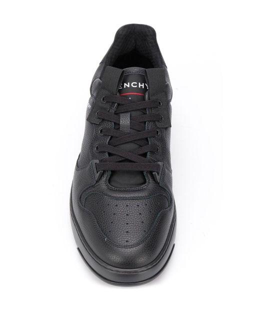 メンズ Givenchy Wing ローカット スニーカー Black