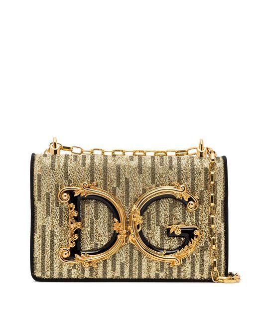 Dolce & Gabbana Dg Girls ショルダーバッグ Metallic
