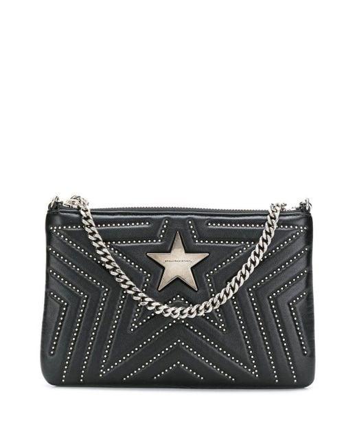 Stella McCartney Black Stella Star Crossbody Bag