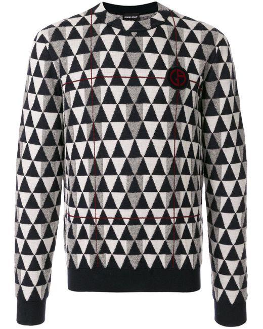 メンズ Giorgio Armani Sweater Black