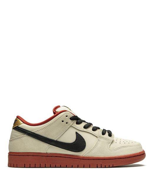 Nike Gray Sb Dunk Low Sneakers for men