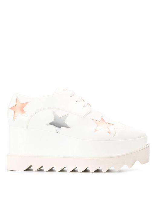 Stella McCartney Zapatos Eclypse de mujer de color blanco