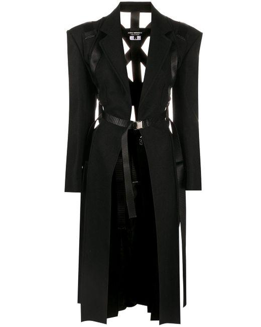 Junya Watanabe ベルテッド コート Black