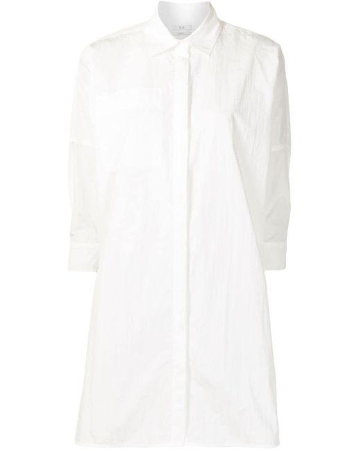 Co. パッチポケット シャツ White