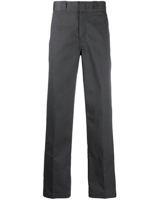 メンズ Dickies ストレートパンツ Gray