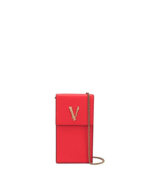 Versace Virtus スマホケース Red