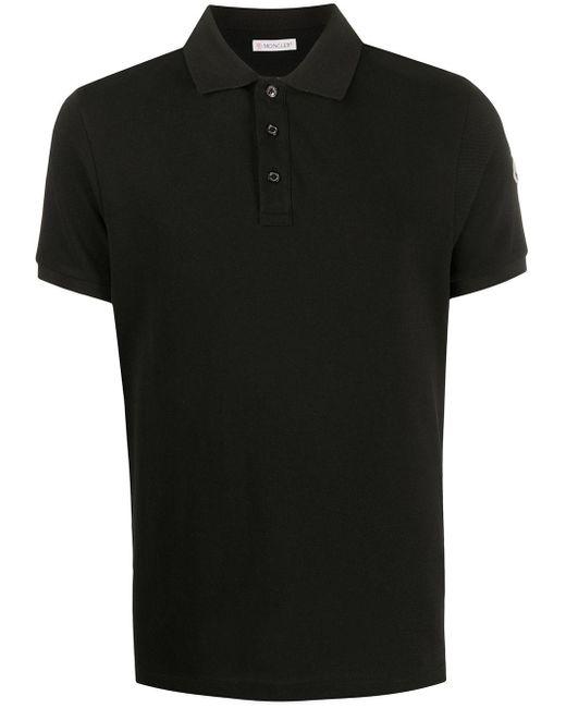 メンズ Moncler ポロシャツ Black