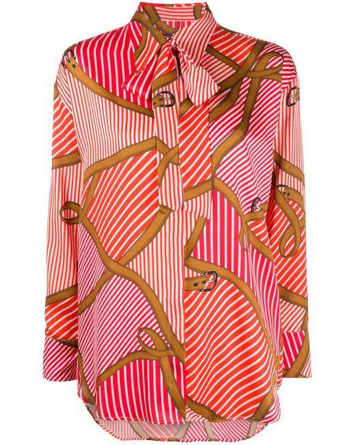 MSGM ストライプシャツ Multicolor