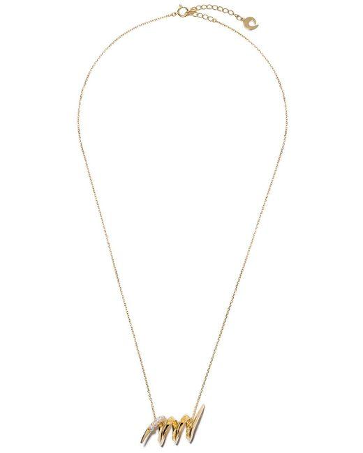 Tasaki Surge パール ネックレス 18kイエローゴールド Metallic