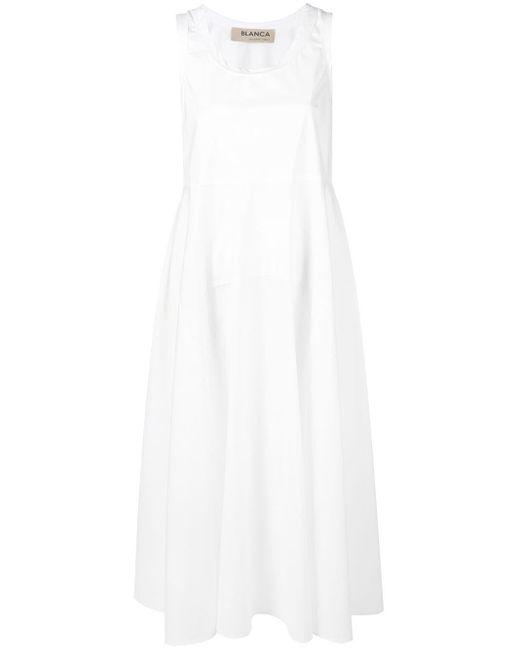 Blanca Vita フレアワンピース White
