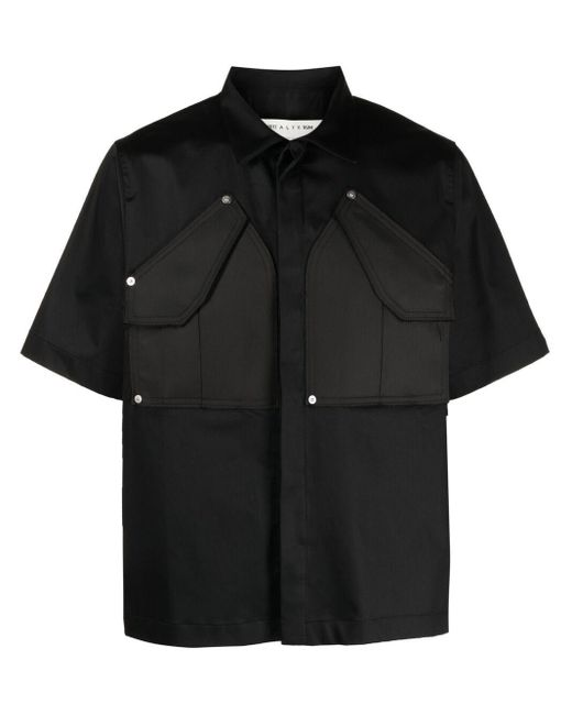 1017 ALYX 9SM ポケット カーゴシャツ Black