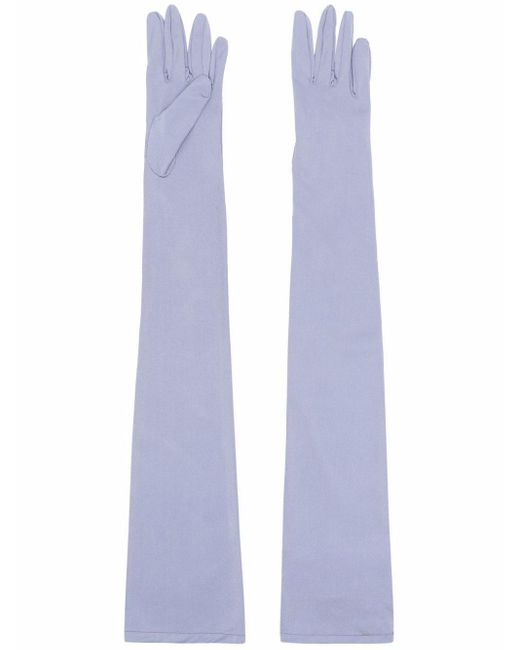 MM6 by Maison Martin Margiela ロンググローブ Blue