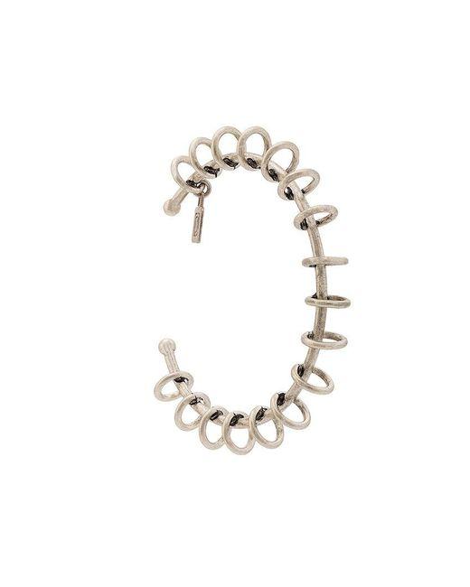 DANNIJO - Metallic Hoop Embellished Bracelet - Lyst