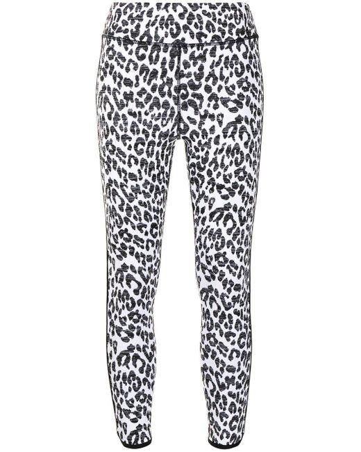The Upside Multicolor Natacha Snow Leopard-print leggings