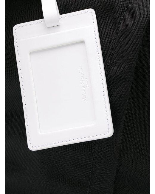 Рюкзак На Молнии Maison Margiela для него, цвет: Black