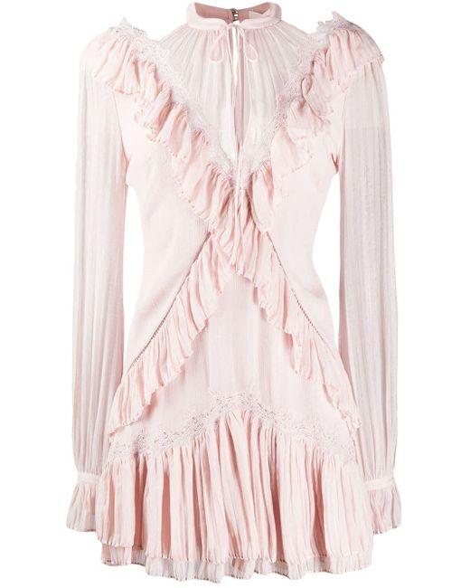 Jonathan Simkhai シャーリングトリム ドレス Pink