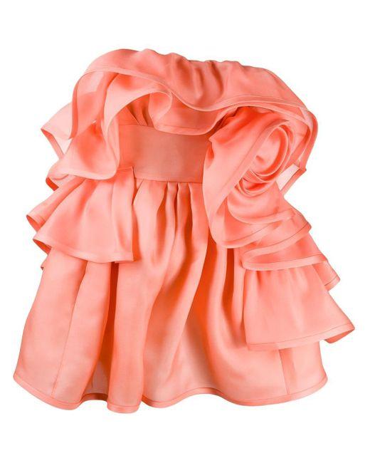 Marc Jacobs ラッフルドレス Pink