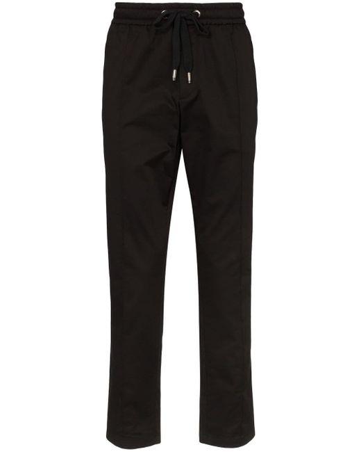 メンズ Dolce & Gabbana ロゴ スウェットパンツ Black