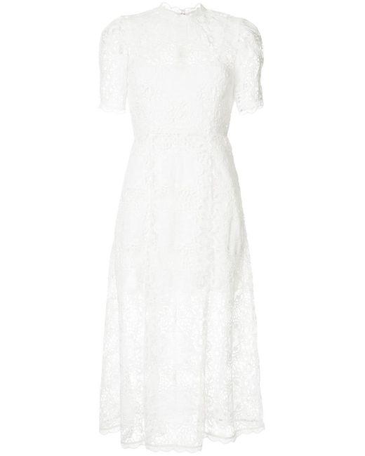 Alice McCALL Diamond Veins レース ドレス White
