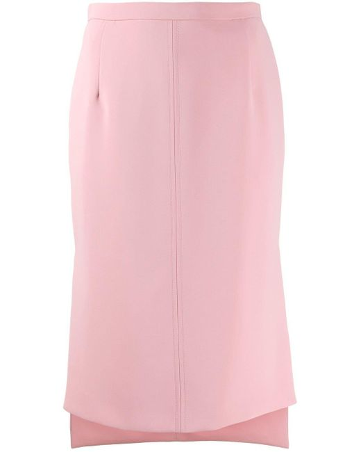 N°21 ハイローヘム スカート Pink