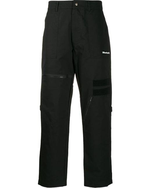 メンズ BBCICECREAM マルチポケット パンツ Black