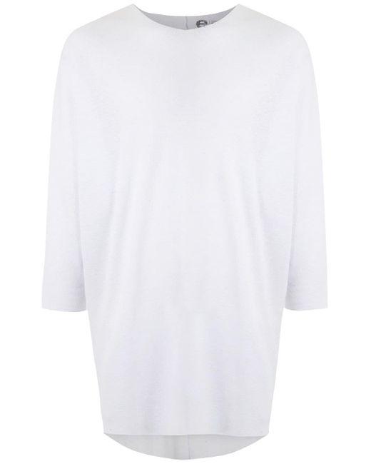 メンズ Osklen Eco Wide Tシャツ White