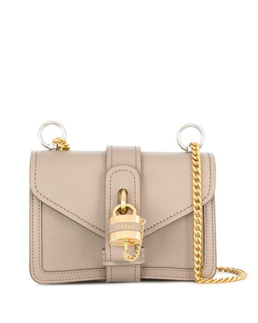 Chloé グレー Aby チェーン バッグ Multicolor