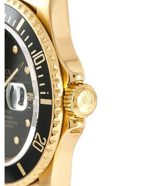 Наручные Часы Submariner Pre-owned 40 Мм 1980-го Года Rolex для него, цвет: Black
