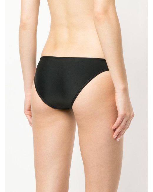 Matteau Women's Black The Classic Brief Bikini Bottom
