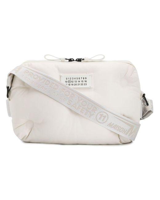 Сумка На Плечо С Логотипом Maison Margiela для него, цвет: White