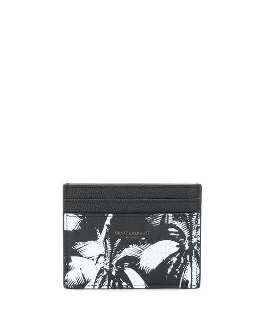 メンズ Saint Laurent カードケース Black