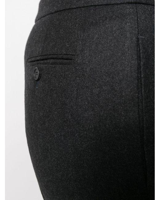 Расклешенные Брюки Строгого Кроя Alexander McQueen, цвет: Gray