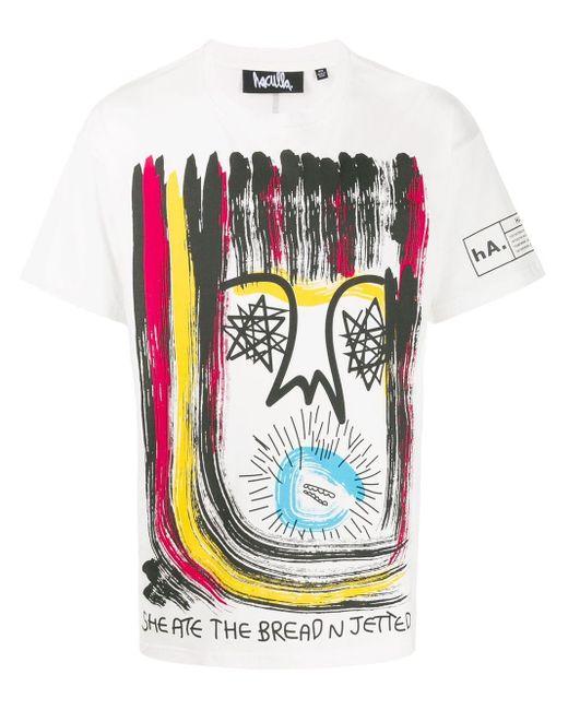 メンズ Haculla プリント Tシャツ Multicolor