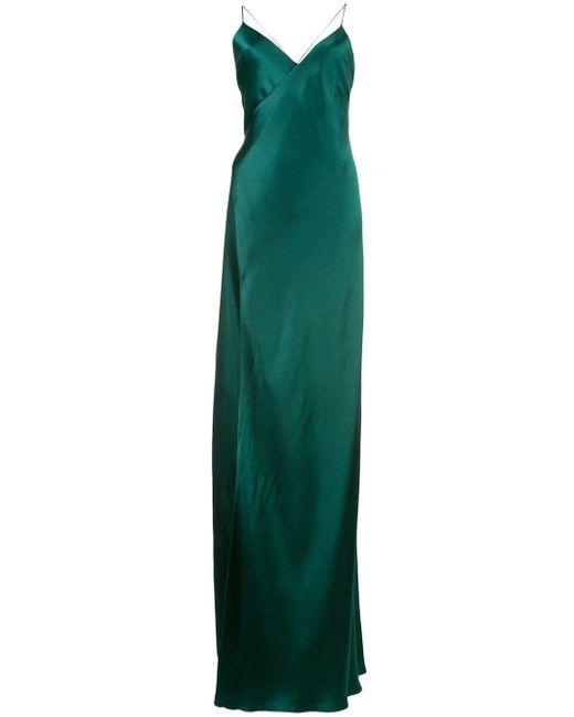 Michelle Mason ラップドレス Green