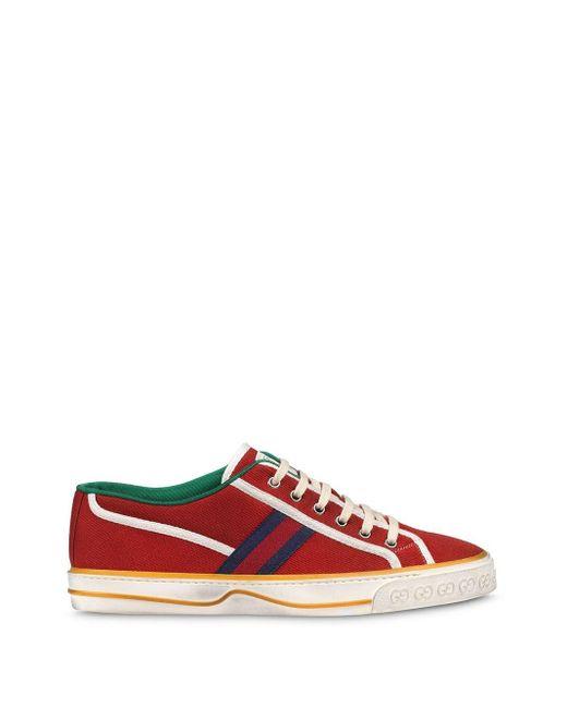 メンズ Gucci テニス 1977 スニーカー Red